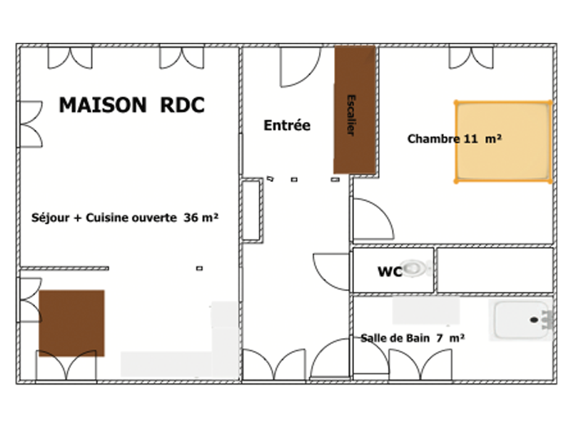 plan-gite-maison-rdc-authentics